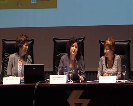 Cristina Novoa. Asesora bibliotecas escolares. Pilar Sampedro. Asesora bibliotecas escolares. Ana Díaz-Plaja. Universitat Barcelona.